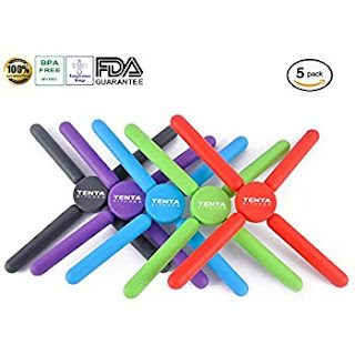 tenta foldable silicone trivets