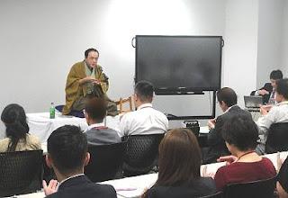 NTTストレスマネジメント研修・三遊亭楽春講演会(神奈川)