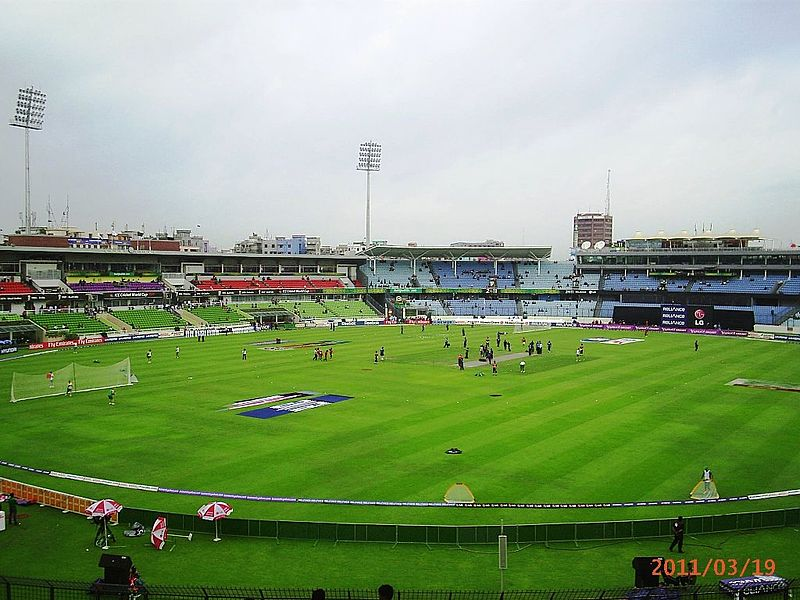 Sher-e-Bangla National Stadium, Dhaka