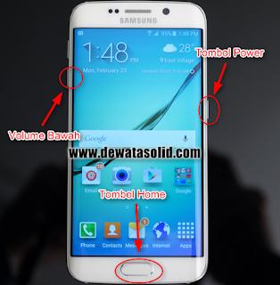 Cara Root Samsung Galaxy S6 atau S6 Edge
