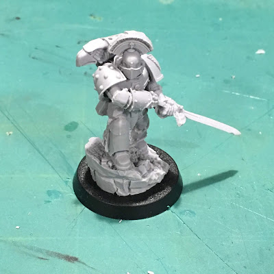 Horus Heresy First Legion Centurion WIP