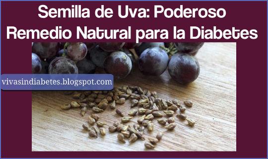 Semilla de Uva: Poderoso Remedio Natural para la Diabetes