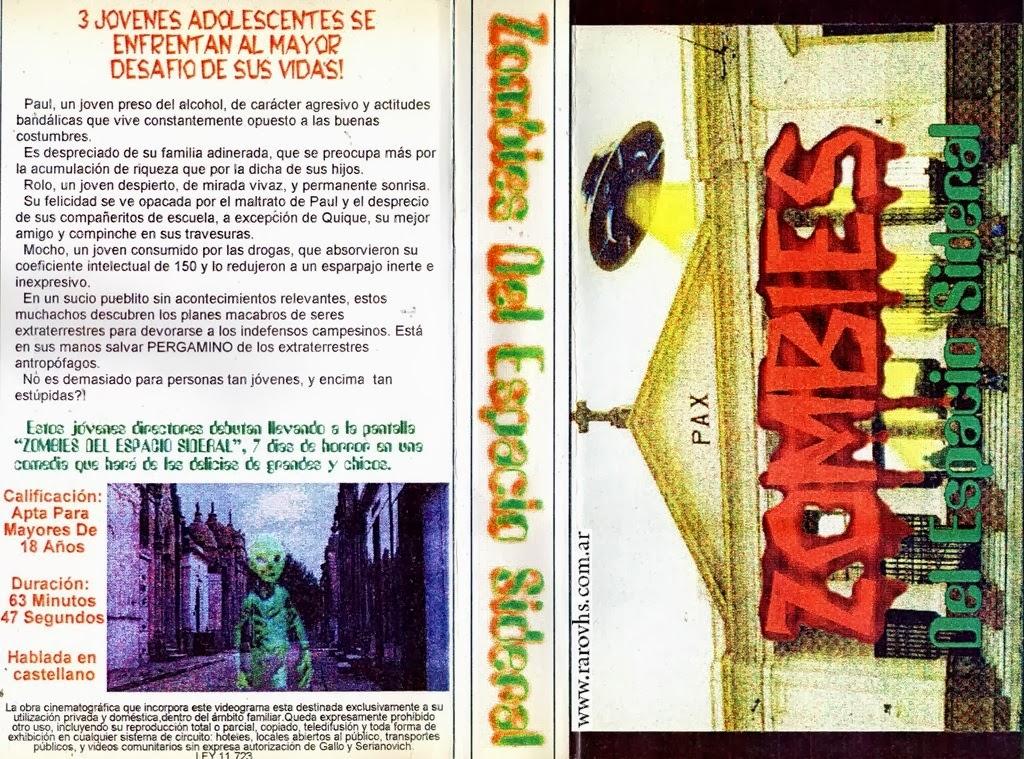 Zombies del Espacio Sideral (1995-1996) Argentina filmada en video