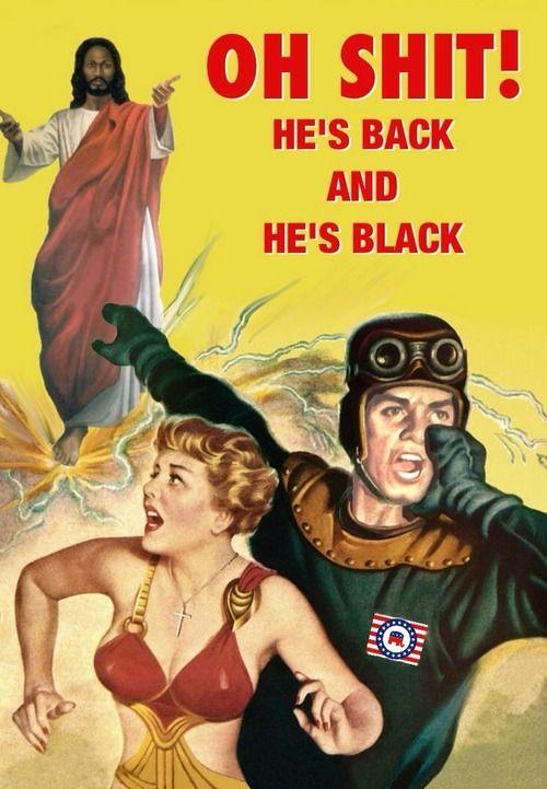 Black Jesus is Back Poster