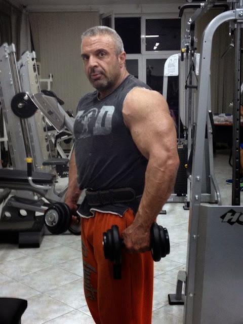 Muscle Lover Greek Muscle Daddy Angelos Kakanis