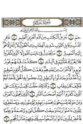 ما هي السور القرآنية التي تسمى الحواميم؟