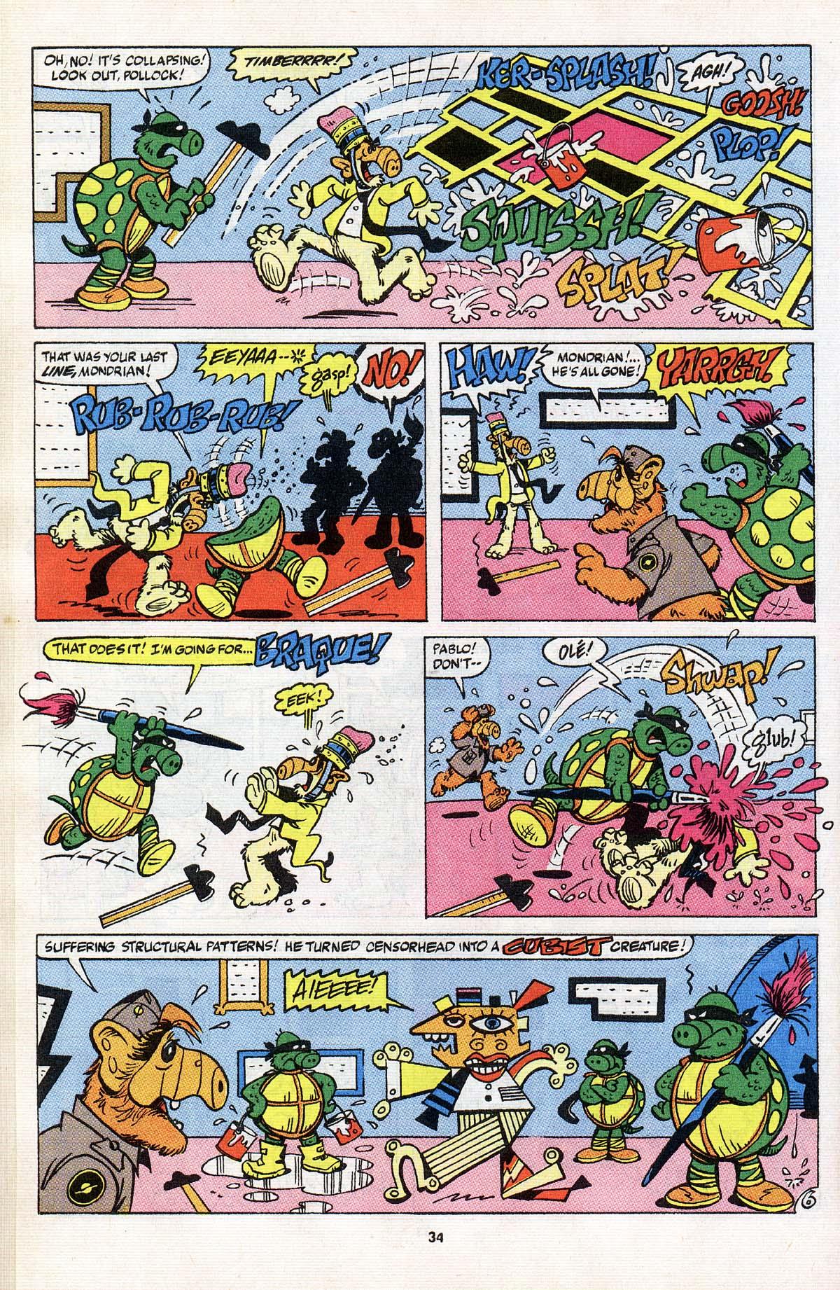 Read online ALF comic -  Issue # _Annual 3 - 31