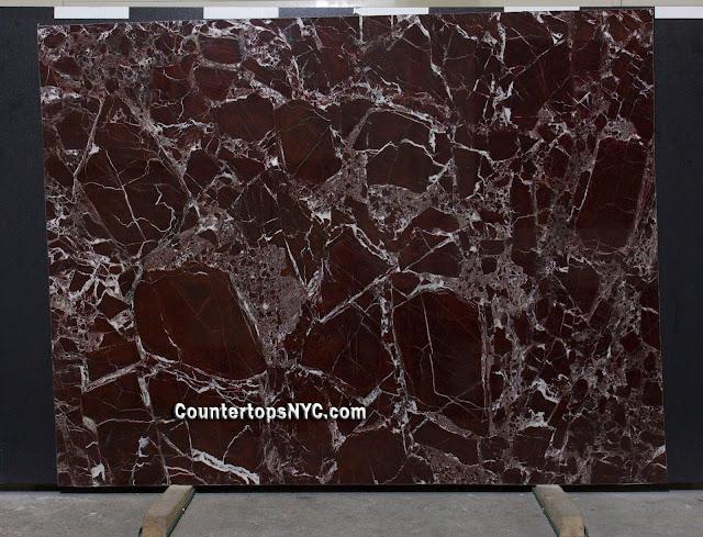 Rosso Levanto Marble Slab NYC 2cm