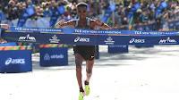 ATLETISMO - Ghirmay Ghebreslassie hace historia en la maratón de Nueva York y Mary Keitany mantiene su hegemonía