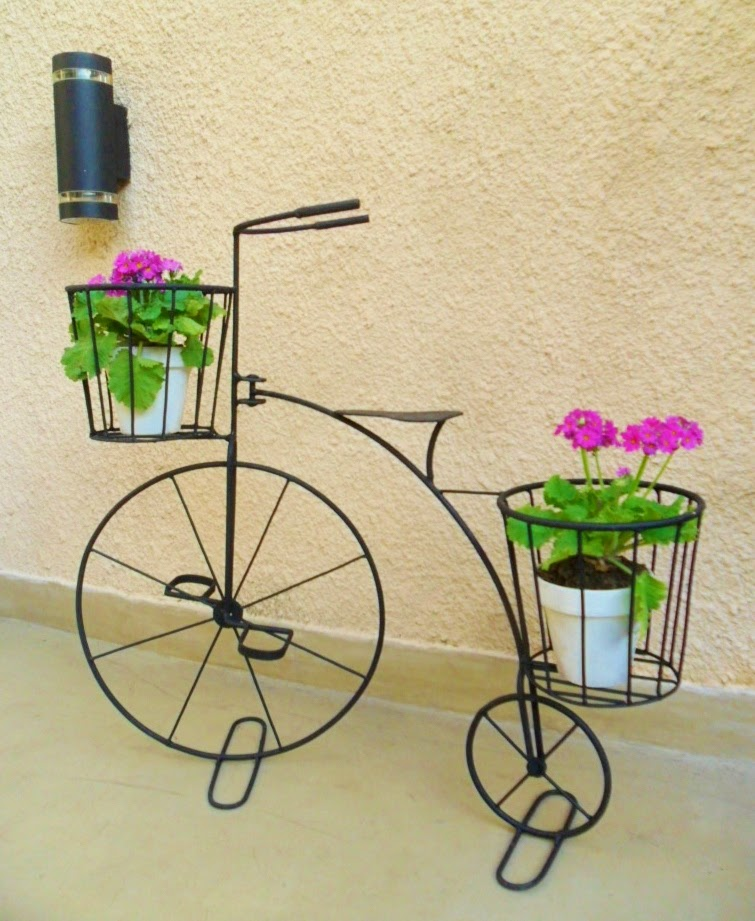 Bicicletas antiguas con portamacetas tienda deco c - Bicicleta macetero ...