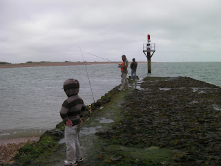 Eastney breakwater - good place for fishing