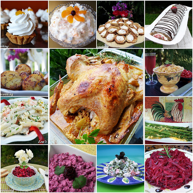 """Lea's Cooking: """"Thanksgiving Dinner Party Ideas"""""""
