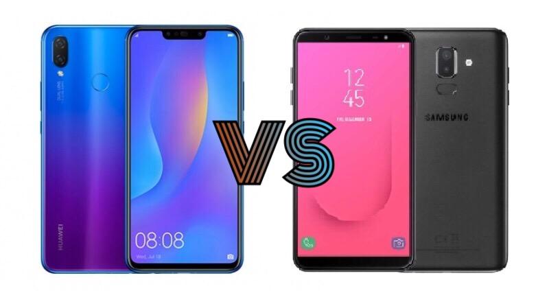 Huawei Nova 3i versus Samsung Galaxy J8 (2018)