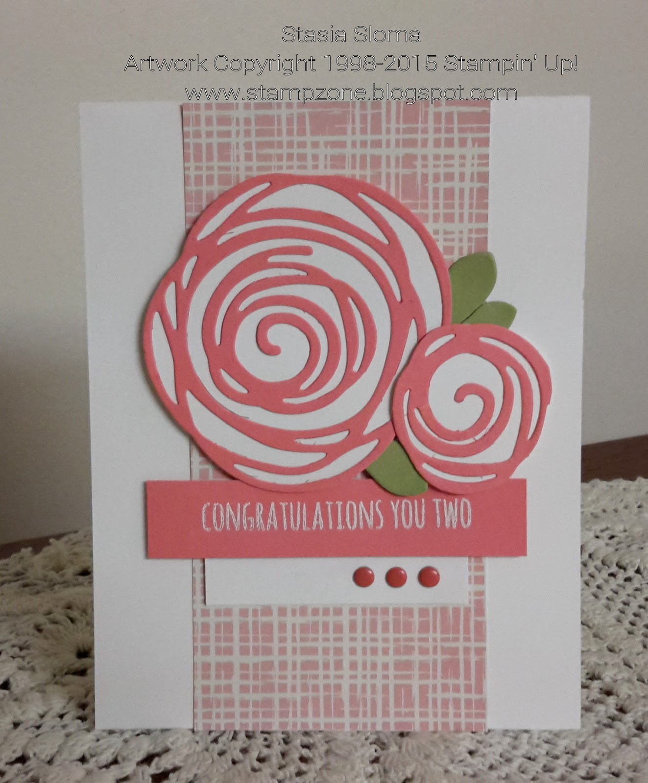 Stampin\' & Scrappin\' with Stasia: Swirly Scribbles Wedding Card