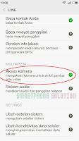 mengatasi video call line gelap di android