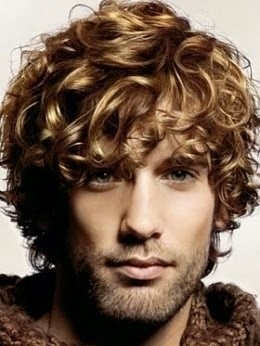 See more freestyle and curly...works on men with GREAT curl. And stop using the long shaggy hair to hide baldness!!! Own it and shave it...it'll look better, I promise.