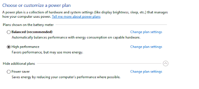 Check and Adjust Your laptop Settings