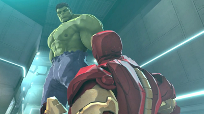 IRON MAN Y HULK: HEROES UNITED