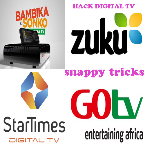 SNAPPY TRICKS: HACK ANY DIGITAL DECODER IN KENYA