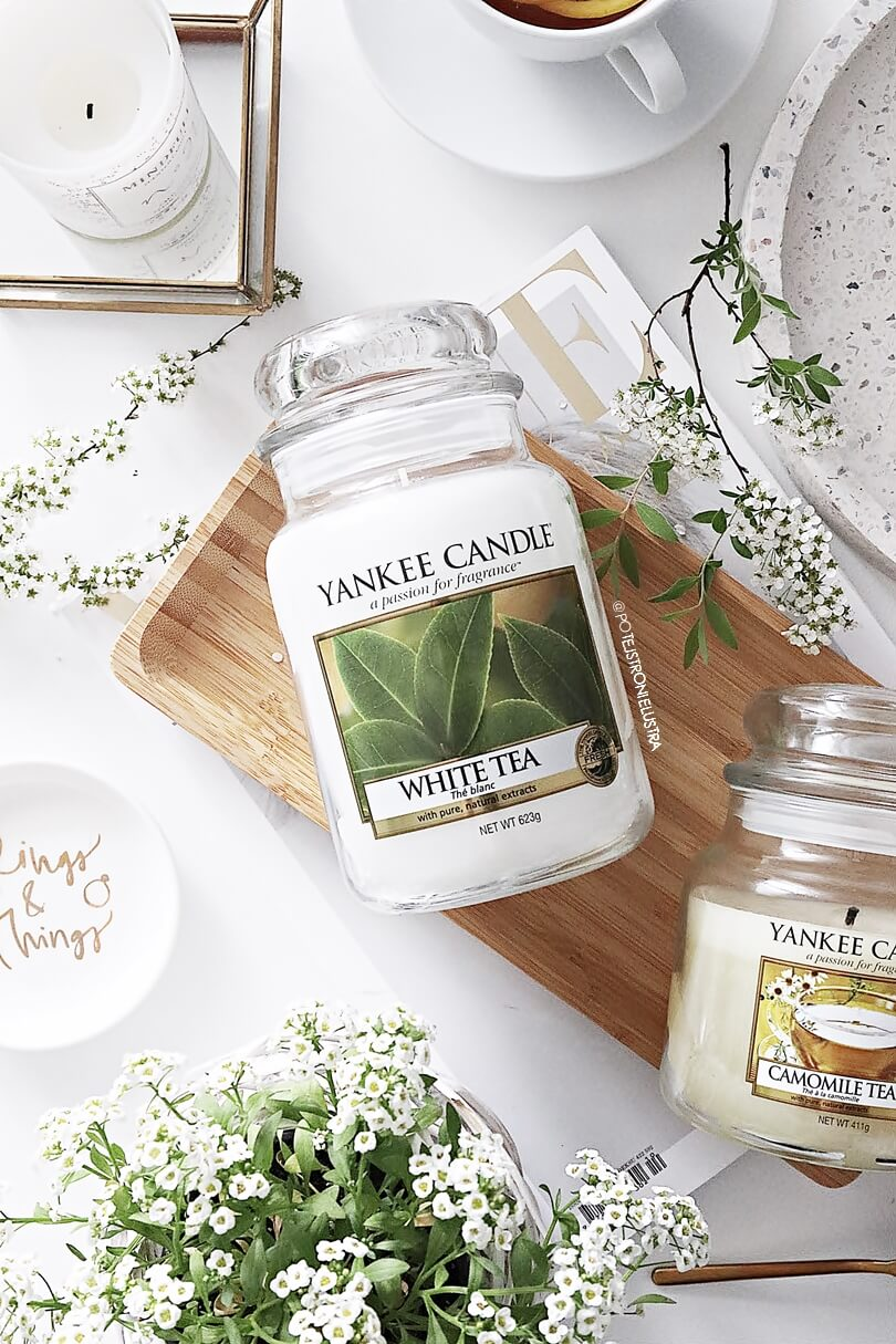 yankee candle white tea blog recenzja
