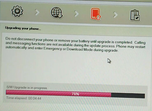Reparar LG Android con LG Flash Tool