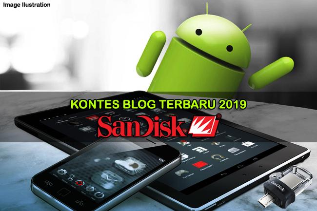 Kontes Blog Terbaru September - Oktober 2019 [SanDisk]