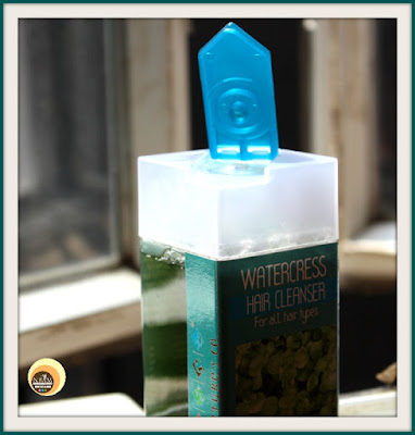 Packaging of The Nature's Co Watercress Hair Cleanser