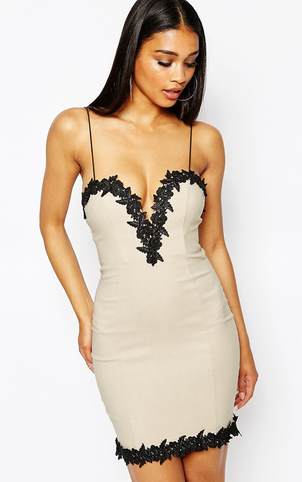 http://www.asos.com/Rare/Rare-London-Lace-Trim-Bodycon-Dress/Prod/pgeproduct.aspx?iid=5360615&cid=8799&sh=0&pge=9&pgesize=204&sort=1&clr=Taupe&totalstyles=3442&gridsize=3
