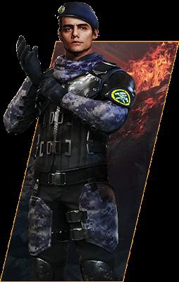 Gambar Semua Karakter Free Fire PNG Transparan Versi VN Bag2 23