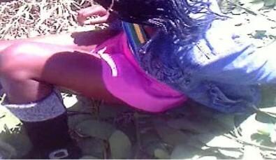 Girl Catches Her Friend Sleeping with Her Boyfriend, Strips Her (Photos)