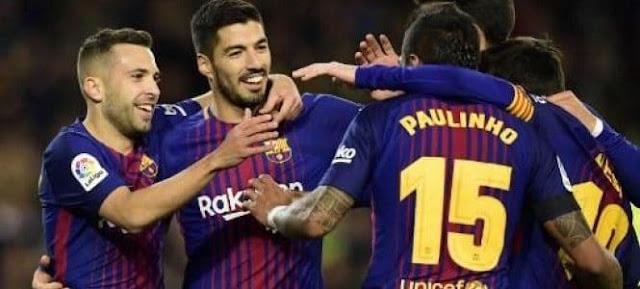 متابعة كتابية مباراة برشلونة وديبورتيفو لاكورونيا مباشر اليوم بالدورى الاسبانى
