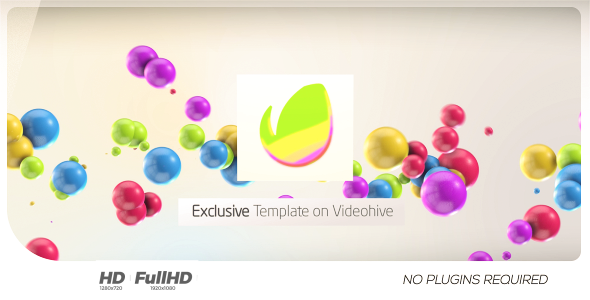 Colorful 3D Balls // Kids logo Videohive - Free Download After ...