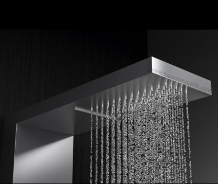 rociador lluvia columna ducha hidromasaje