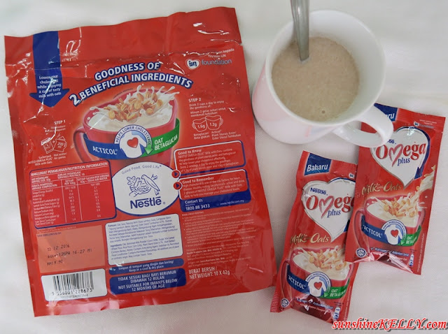 Nestlé Omega Plus Milk with Oats, power of two, cholesterol reducing ingredients, acticol, beta glucan, Nestlé Omega Plus Milk with Oats where to buy, Nestlé Omega Plus Milk with Oats how much, Nestlé Omega Plus Milk with Oats benefits, Nestlé Omega Plus Milk with Oats lifestyle,