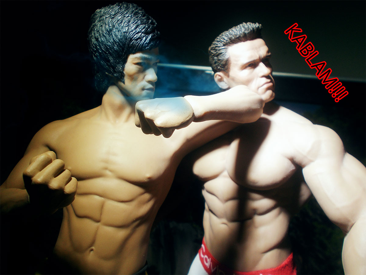 tbleague - Comic: Arnold Schwarzenegger VS Bruce Lee 20-kablam
