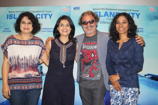 The Island City, Ruchika Oberoi, Tannishtha Chatterjee, Amruta Subhash, vinay pathak