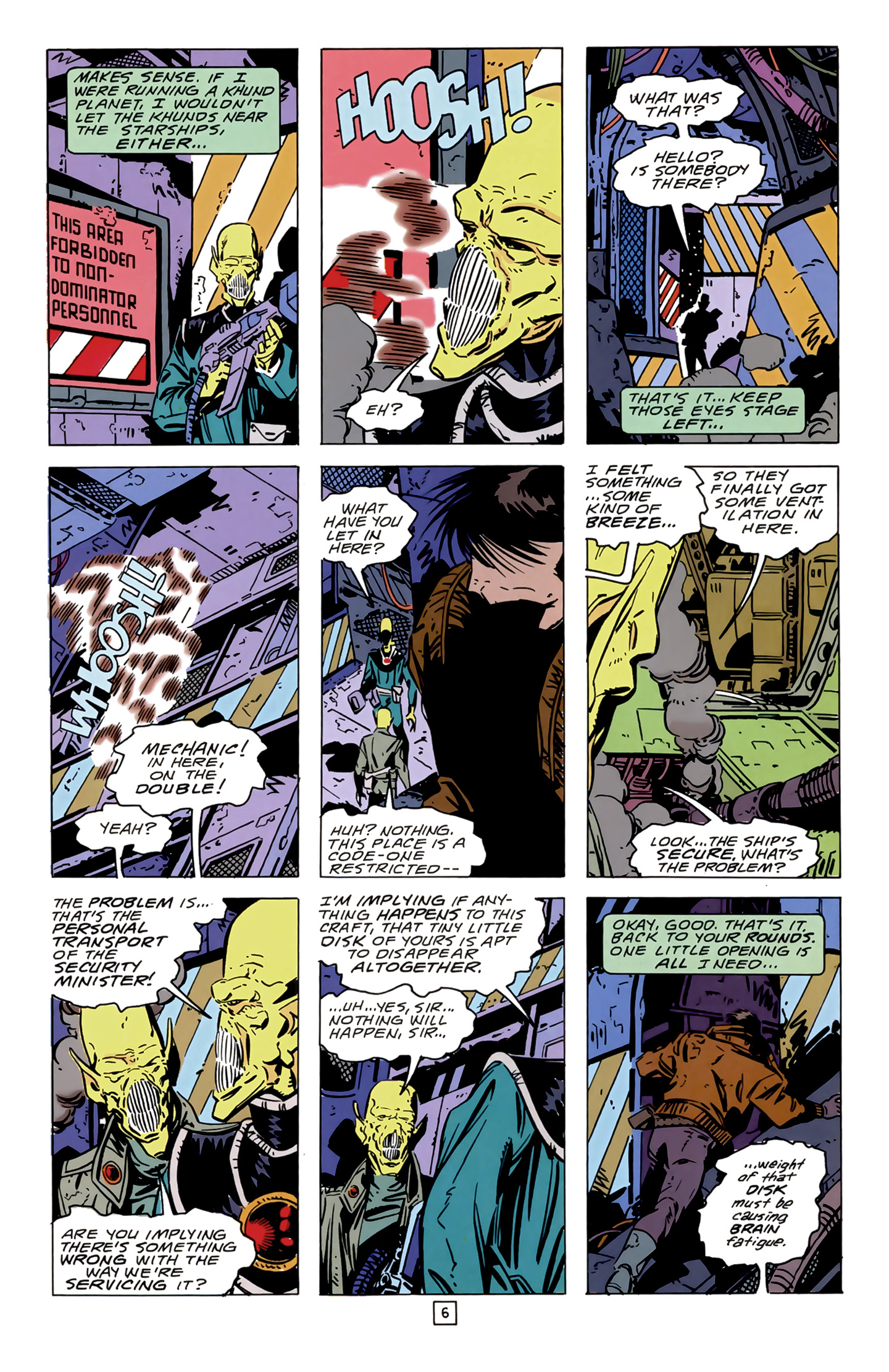 Legion of Super-Heroes (1989) 14 Page 6