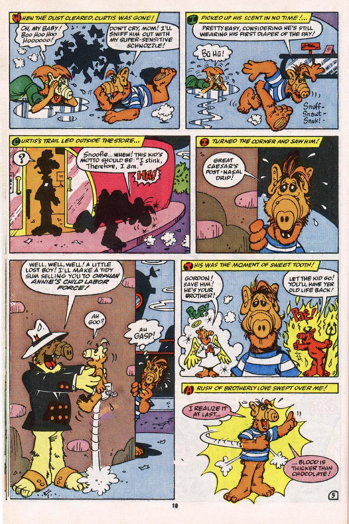 Read online ALF comic -  Issue # _Annual 2 - 17