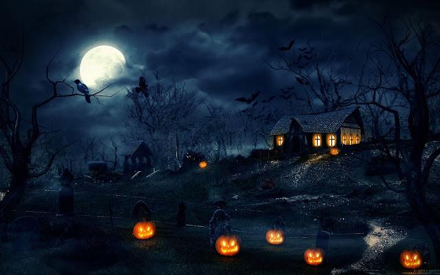 Halloween backgrounds desktop 5