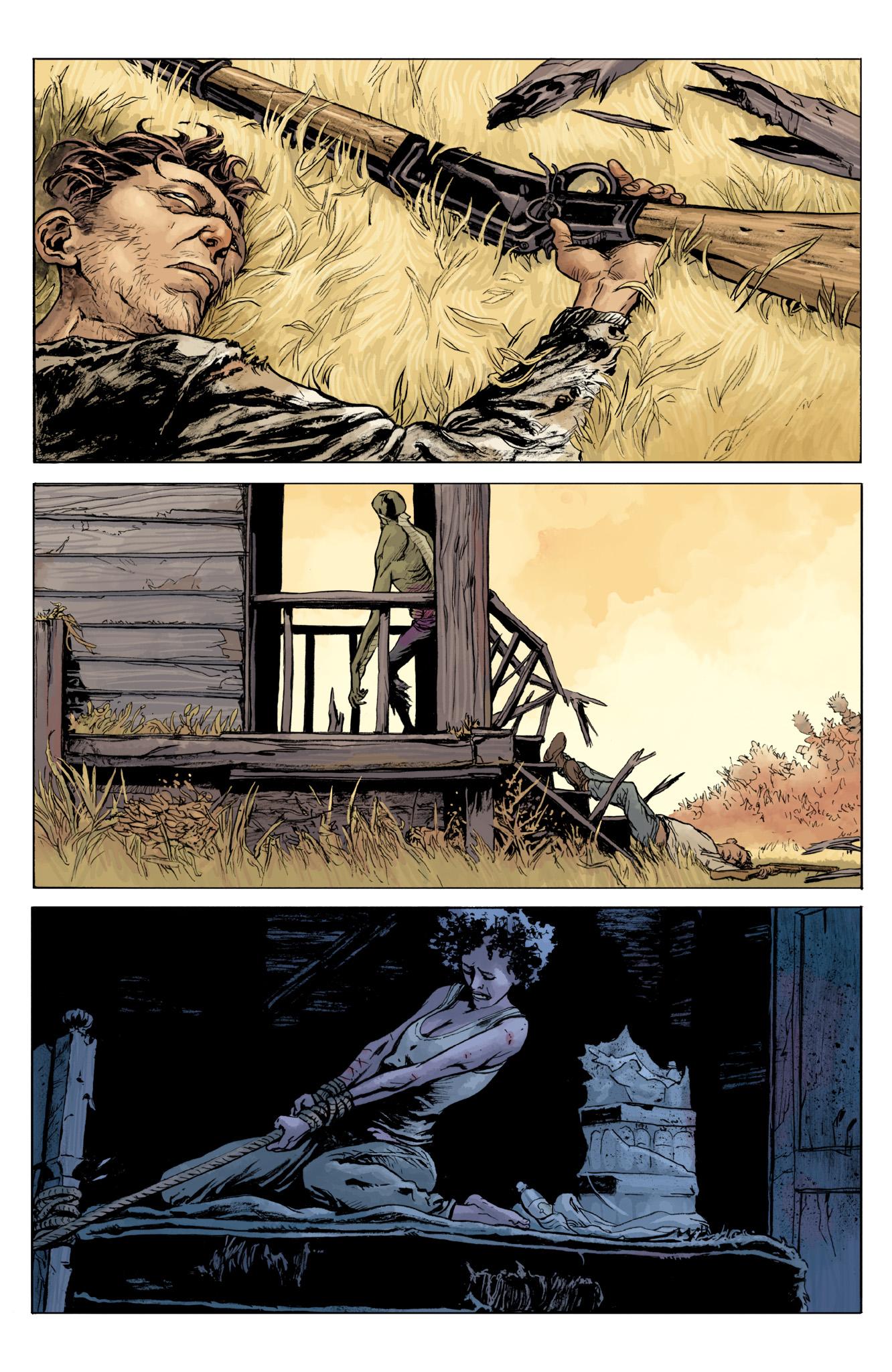 Read online Abe Sapien comic -  Issue #12 - 23
