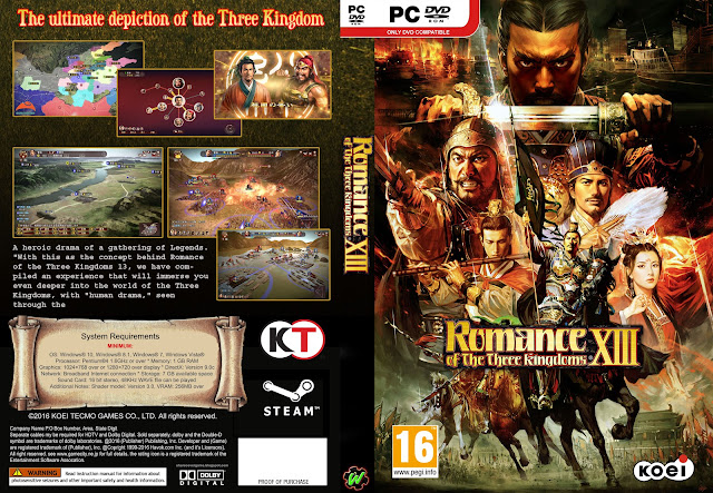 Capa Romance Of The Three Kingdoms PC