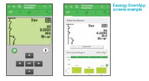 Tampilan App Easergy P3