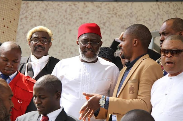 BREAKING! Court gives judgement on Olisa Metuh son's case