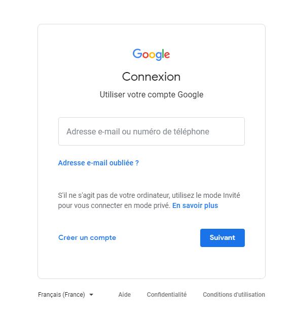 نسيت باسورد gmail