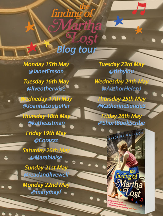 #BlogTour The Finding of Martha Lost by Caroline Wallace @TransworldBooks