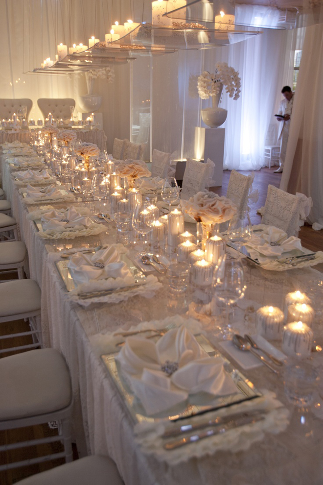 Wedding trends strictly long tables part 2 belle the for All for wedding decoration