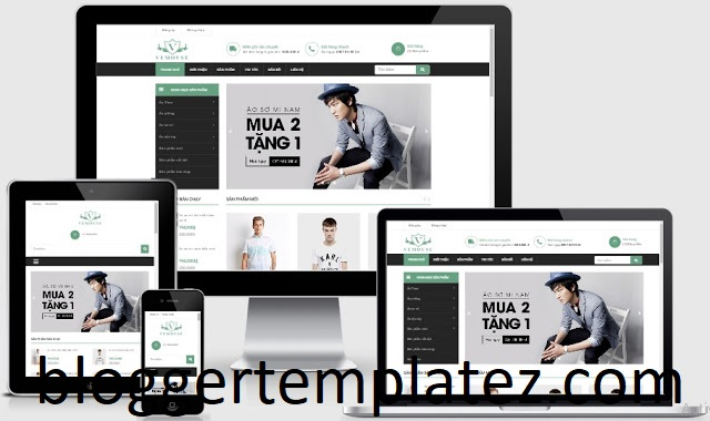 Template blogspot shop
