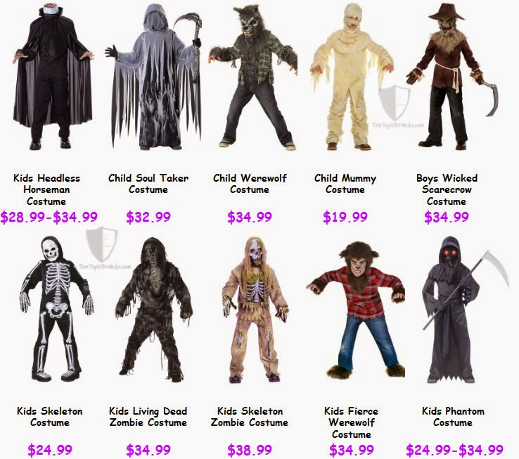 Top 10 Scary Halloween Costumes for kids  sc 1 st  Top 10 Brands & Scary Halloween Costumes for kids 2014 | Top 10 Brands