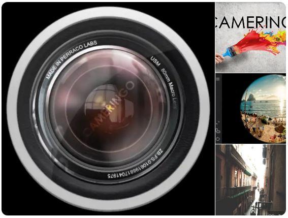 تحميل تطبيق Cameringo+Filters Camera للتصوير الأحترافي HD بكاميرا هاتفك