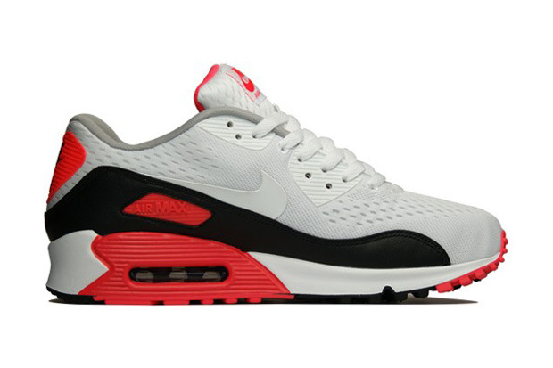 "buy popular 0f134 2941d Nike introduces the latest version of its popular Air Max 90 silhouette.  Deemed the Premium EM ""Infrared,"" the sneaker resembles former Air Max 90  Infrared ..."